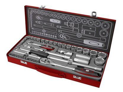 Obrázok pre výrobcu Fortum Sada nástrčných a zástrčných kľúčov 50-dielna 4700002