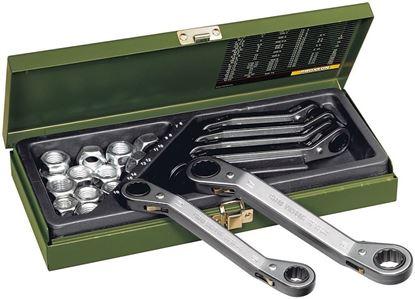 Obrázok pre výrobcu Sada račňových kľúčov Proxxon 7 dielná 23231