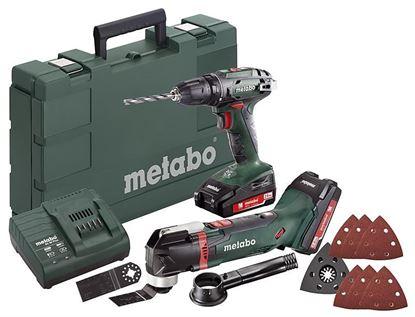 Obrázok pre výrobcu Set Combo Metabo BS18 + MT18 685081000