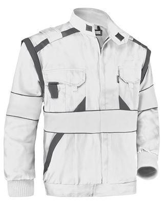 Obrázok pre výrobcu Montérková bunda MAX biela Dopredaj