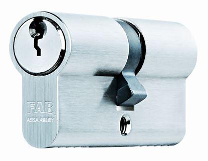 Obrázok pre výrobcu Vložka do dverí FAB 200RSDM 29/35 mm 5 kľúčov