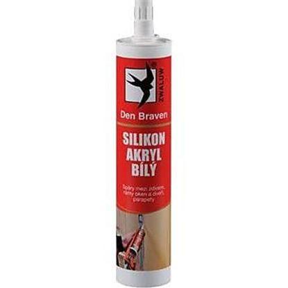 Obrázok pre výrobcu Silikón akrylový tmel 310 ml 20202RL biely