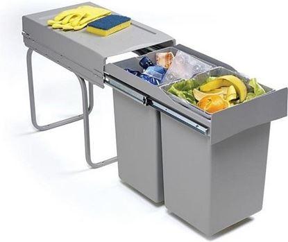 Obrázok pre výrobcu Odpadkový kôš Alveus ALBIO 20 - 2 x 14 L