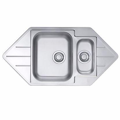 Obrázok pre výrobcu Alveus Line 40 nerezový drez 985 x 500 mm