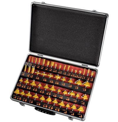 Obrázok pre výrobcu Proteco Sada frézok 50 dielna, stopka 8mm, 10.10-SF-50