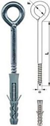 Obrázok pre výrobcu Hmoždinka s okom HOX