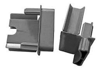 Obrázok pre výrobcu Klzák RB3D k zámkovej lište s uchytením Rehau RB04