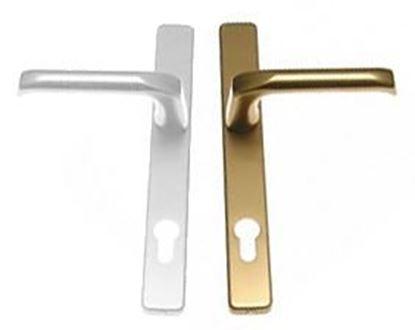 Obrázok pre výrobcu Kľučka euro London 32/92 kl+kl kombinovaná F4 + biela