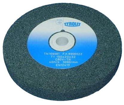 Obrázok pre výrobcu Brúsny kotúč Tyrolit 150 x 20 x 20 C4980K9V09