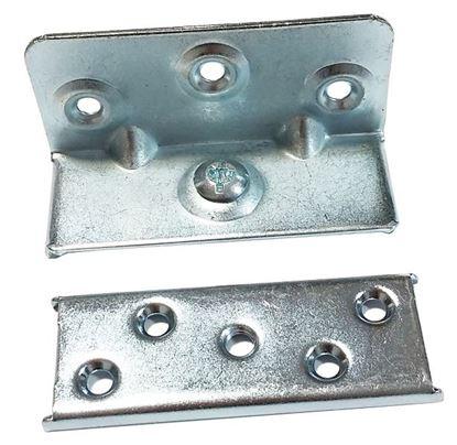 Obrázok pre výrobcu Posteľné kovanie DUO 90mm