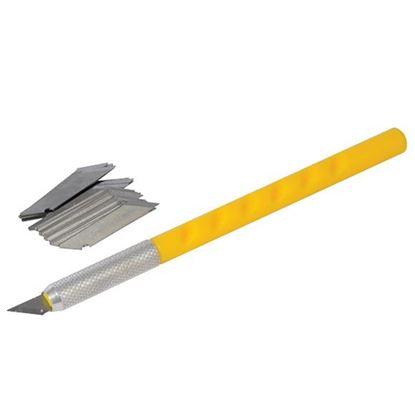 Obrázok pre výrobcu Nož skalpel sada Silverline 25 dl. 125-456928