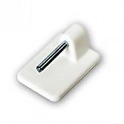 Obrázok pre výrobcu Samolepiaci vitrážkový háčik biely 19BIE