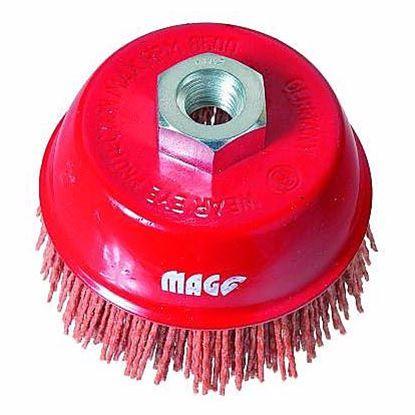 Obrázok pre výrobcu Magg BL97575 Kefa s nylónovými štetinami M14