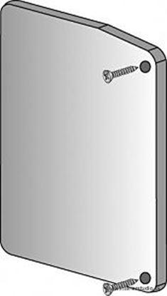 Obrázok pre výrobcu TERNO SCORREVOLI koncovka ku kryciemu profilu 1380/A