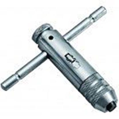 Obrázok pre výrobcu Vratidlo na závitníky s račňou M3-M8