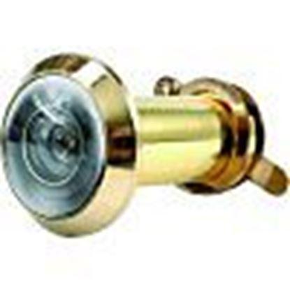 Obrázok pre výrobcu Panoramatické kukátko do dverí SISO 35-50mm mosadz/zlaté /2865/