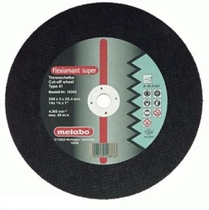 Obrázok pre výrobcu METABO Rezný kotúč na kov 350*3,5*25,4 616203