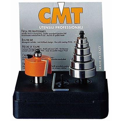 Obrázok pre výrobcu Falcovacia fréza na polodrážku - sada CMT C935