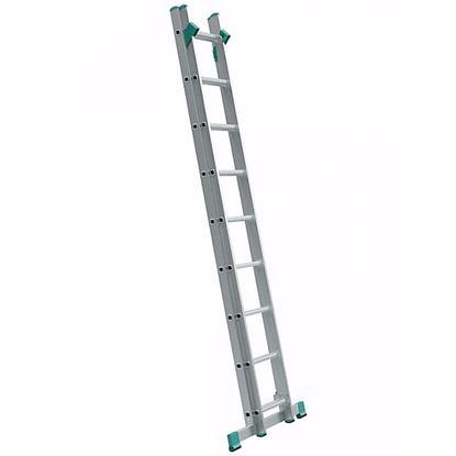 Obrázok pre výrobcu Rebrík EUROSTYL dvojdielny s úpravou na schody