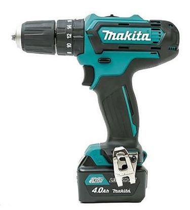 Obrázok pre výrobcu Makita HP331DSME Aku. skrutkovač s príklepom 10,8 V, 4 Ah
