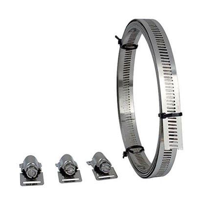 Obrázok pre výrobcu SK páska BW4-0803 + 8 zámkov-  dlžka 3m