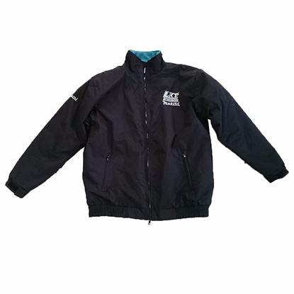 Obrázok pre výrobcu MAKITA Čierna šušťáková bunda LXT