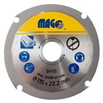 Obrázok pre výrobcu Rezný kotúč MAGG SH do uhlovej brúsky