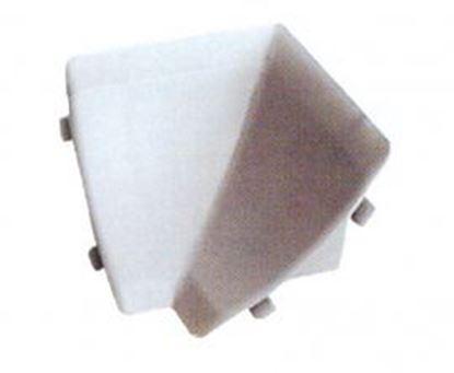 Obrázok pre výrobcu Spojka strieborná k tesniacej lište TH.LP.820.SR AL/PH vnutorný roh