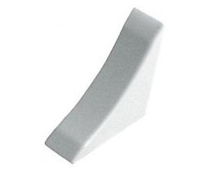 Obrázok pre výrobcu Koncovka strieborná k tesniacej lište TH.LP.820.SR AL/PH