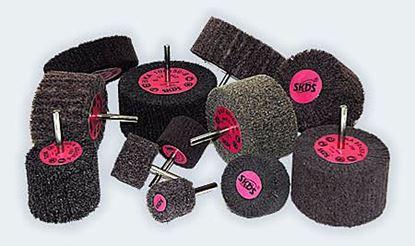 Obrázok pre výrobcu Lamelové kotúče stopkové - brusné rúno SIA BKA