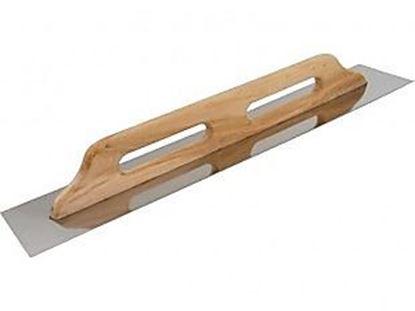 Obrázok pre výrobcu Hladítko nerezové s drevenou rúčkou