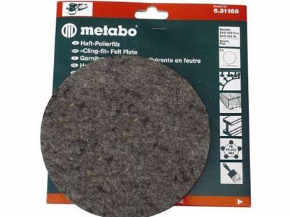 Obrázok pre výrobcu Leštiaci filc, tvrdý, suchý zips Metabo