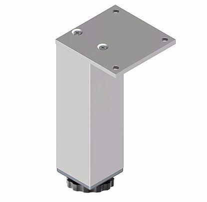Obrázok pre výrobcu Nábytková noha N 45 x 45 x 150 mm, hliník H150R