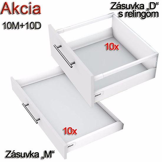 Obrázok Blum TANDEMBOX Antaro 10M+10D s Makita 6271 DWPLE
