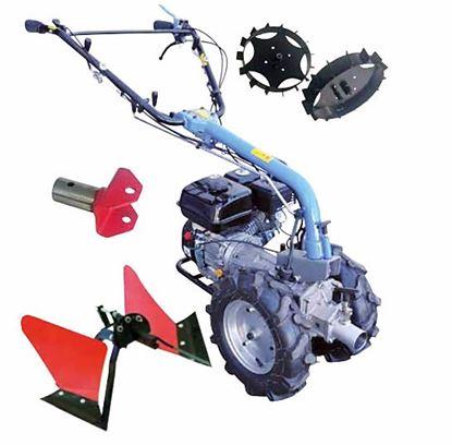 Obrázok pre výrobcu Güde GME 6,5 PS Univerzálny dvojkolesový malotraktor s príslušenstvom TK-099