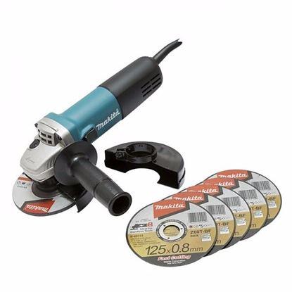 Obrázok pre výrobcu Makita 9558HNRX1 Uhlová brúska 125 mm