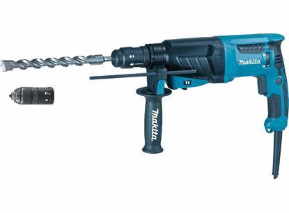 Obrázok pre výrobcu Makita HR2630T vŕtacie kladivo