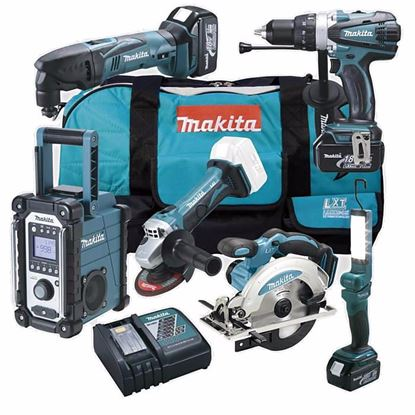 Obrázok pre výrobcu MAKITA DLX6008 Sada akumulátorového náradia