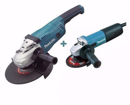 Obrázok pre výrobcu Makita DK0053G Sada uhlových brúsok GA9020 + 9558HNRG