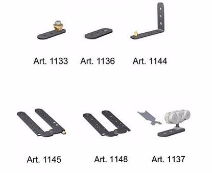 Obrázok pre výrobcu Sada kovania pre posuvné skladacie dvere TERNO 1145-1148