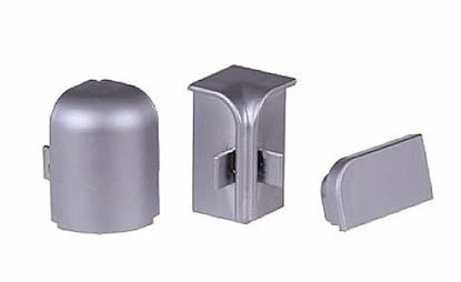 Obrázok pre výrobcu Set spojok k tesniacej lište L11 šedý L10/s/