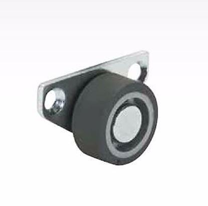 Obrázok pre výrobcu Koliesko ASIM FIX 30 mm - bočné s gumovým behúňom