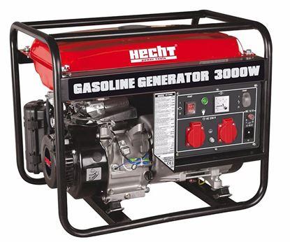 Obrázok pre výrobcu HECHT GG 3300 - jednofázový generátor (Elektrocentrála benzínová)