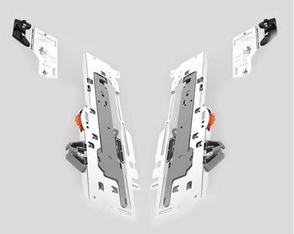 Obrázok pre výrobcu Súprava jednotky TIP-ON BLUMOTION a unášača TIP-ON BLUMOTION
