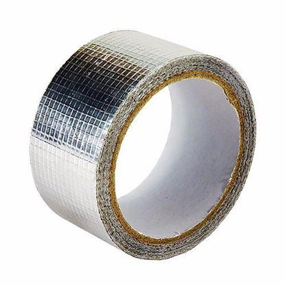 Obrázok pre výrobcu Hliníková páska so sklenenou sieťkou 50 mm x 50 m