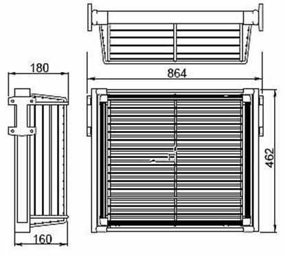 Obrázok pre výrobcu Výsuvný košík GTV