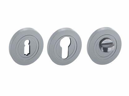 Obrázok pre výrobcu Rozeta Nomet G6 matný chróm okrúhla