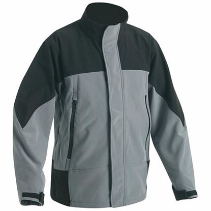 Obrázok pre výrobcu Bunda ERMINE čierno-šedá /L/ Dopredaj