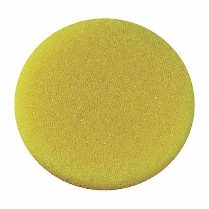 Obrázok pre výrobcu Leštiaca špongia so suchým zipsom hrubá 130 x 25 mm 624913
