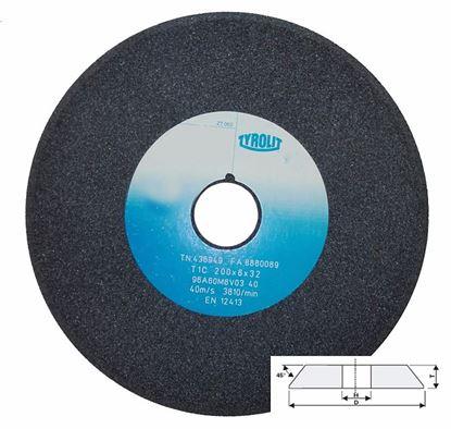 Obrázok pre výrobcu Kotúč brúsny skosený 45°